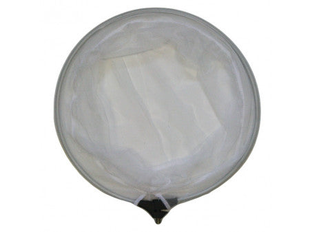 Betta 35mm Round White Fine Net