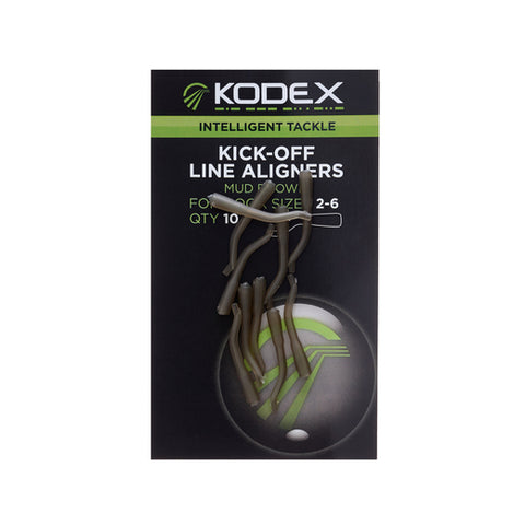 KODEX Kick-Off Line Aligners: Mud Brown 2-6 (10pc pkt)