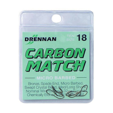 Drennan Micro Barbed Carbon Match Hook