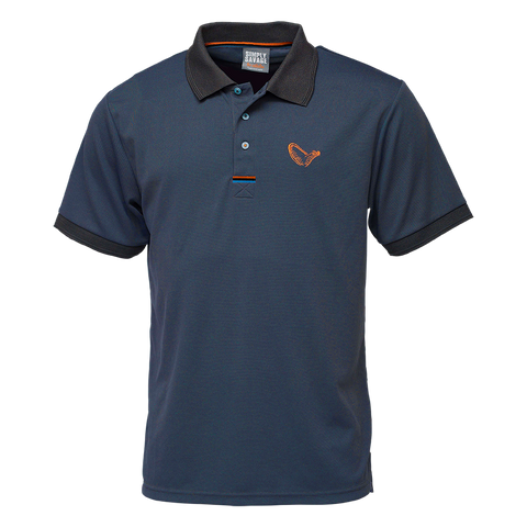 Savage Gear 3-STRIPES POLO SHIRT OMBRE BLUE