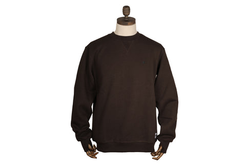Thinking Anglers Crew Neck Brown