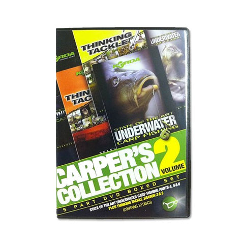 Korda Carpers Collection DVD Volume 2
