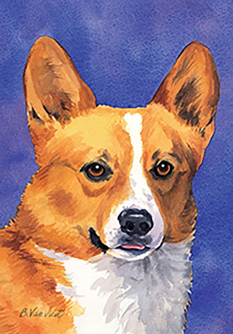 Corgi Pembroke Welsh - Best of Breed Outdoor Portrait Flag