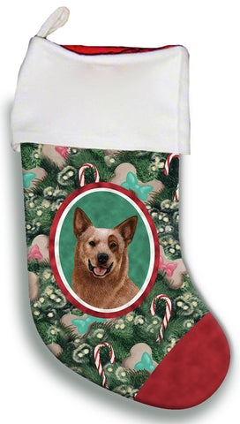 Australian Cattle Dog Red - Best of Breed Christmas Stocking