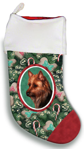 Australian Terrier - Best of Breed Christmas Stocking