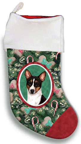 Basenji Tri  - Best of Breed Christmas Stocking