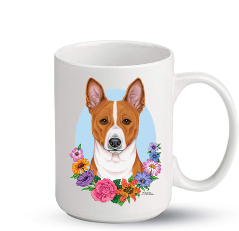 Basenji - Best of Breed Ceramic 15oz Coffee Mug