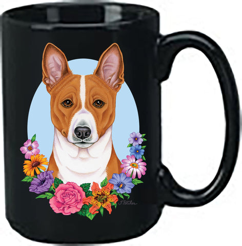 Basenji - Best of Breed Ceramic 15oz Coffee Black Mug