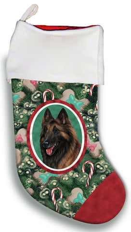 Belgian Tervuren - Best of Breed Christmas Stocking