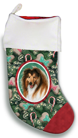 Collie - Best of Breed Christmas Stocking