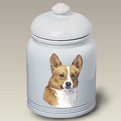 Corgi Pembroke Welsh - Best of Breed Stoneware Ceramic Treat Jars