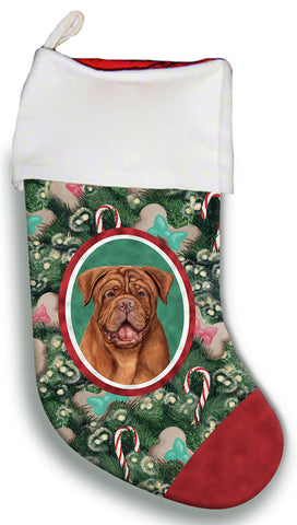Dogue De Bordeaux  - Best of Breed Christmas Stocking