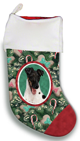 Fox Terrier Tri - Best of Breed Christmas Stocking