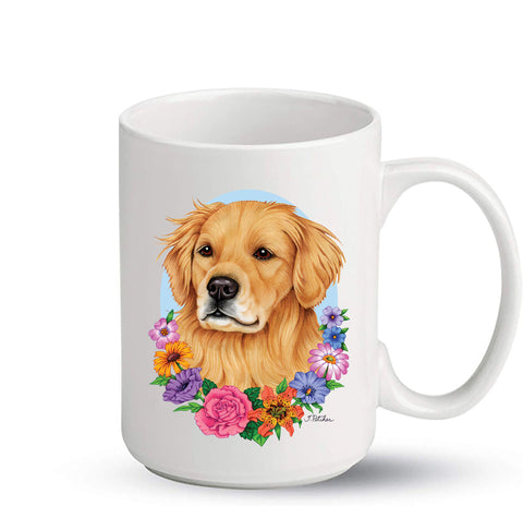 Golden Retriever - Best of Breed Ceramic 15oz Coffee Mug