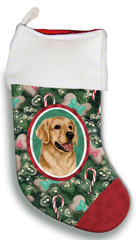 Golden Retriever - Best of Breed Christmas Stocking