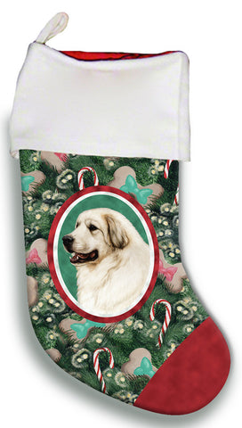 Great Pyrenees - Best of Breed Christmas Stocking