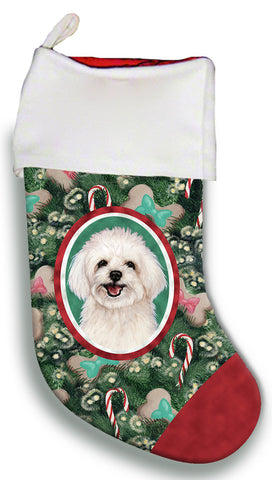 Maltipoo- Best of Breed Christmas Stocking