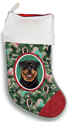 Rottweiler- Best of Breed Christmas Stocking