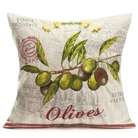 Hopyeer Valentine's Day Love Cupid Message Decorative Throw Pillow Covers Vintage Garden Cupid's Arrow with Flowers Leaves Pattern Pillowcase Home Sofa Cushion Cover 18x18Inch (Cupid's arrow)