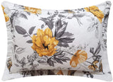 ARL Home 2 Set Vintage Floral Leaf Standard Pillowcases Country Bedding Floral Bird Sham Bedroom Soft Decorative Pillow Covers 20 X 26-Inch Queen/Full Size -100% Microfiber