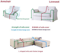 Plush Sofa Slipcover,1-Piece Vintage Lace Suede Couch Cover Anti-slip Furniture Protector for 1 2 3 4 Cushions Sofa-grey 200x350cm(79x138inch)
