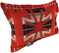 Splendid Exchange Southwestern Bedding Freedom Collection, Mix and Match, Reversible Pillow Sham, Freedom Cross Red and Black