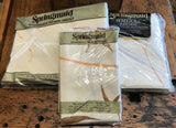 Vintage Springmaid Kabuki Double Sheet Set - Bamboo Butterflies - In Packages