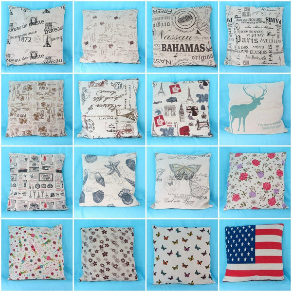 10pcs wholesale cushion covers cute pillow cases