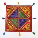 Indian Multicolor Home Decor Vintage Hippie Pillow Sham Couch Cushion Cover Case