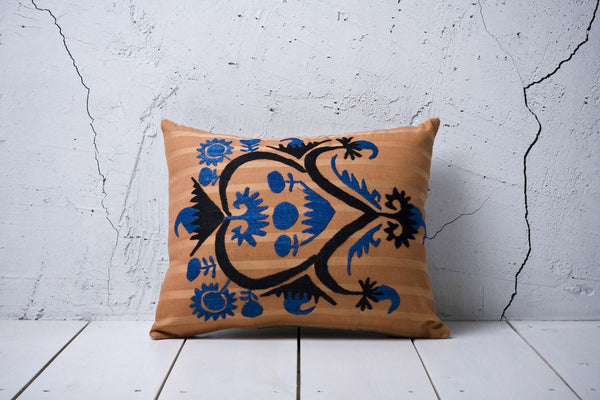 "15"" x 18"" Pillow Cover Suzani Pillow Cover Vintage FAST Shipment With UPS 00912"