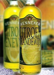 Lemon Brandewijn is a sweet spirit with a delilcious natural lemon flavour. The Dutch drink this straight up on the rocks or add it to food recipes. At 20% alc it is very smooth and drinkable. Its sweetness is cut with a dryer finish that does not make it cloying.