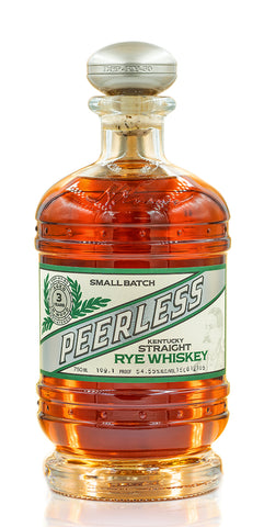 Peerless Straight Rye Whiskey is a well balanced Rye, bolstered by sweet tones of maple, brown sugar and light citrus sweetness. Finish with a hint of oak & no burn. Non-Chill Filtered, Barrel Proof. WHISKEY ADVOCATE #15 TOP 20 WHISKIES 2017