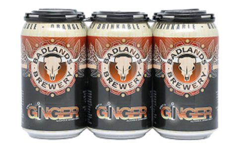 Badlands Only Ginger Beer 6 Pack