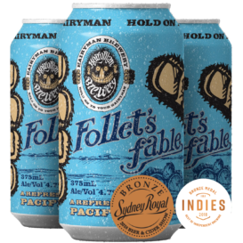 Hairyman Follets Fable Pacific Ale