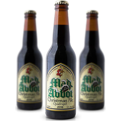 Wicked Elf Mad Abbot Xmas Ale case 12pack