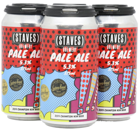 Staves Pale Ale 4 Pack