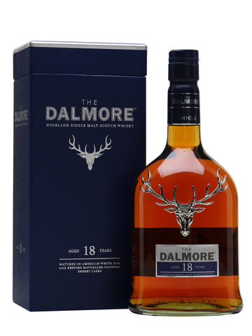 Dalmore's trademark style is luscious notes of orange, chocolate and spices, and the 18 Year Old bottling is a terrific example. Aged in both bourbon and sherry casks, it has seductive notes of vanilla, dark chocolate and candied orange on the nose, followed by a full-bodied, spicy palate of cinnamon and stewed fruit.