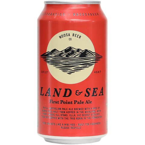 Land and Sea First Point Pale Ale