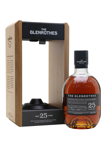 The pinnacle of the Glenrothes new range is this decadent 25 Year Old, which was awarded the Chairman's Trophy at the 2018 Ultimate Spirits Challenge. Aged in mostly first-fill sherry-seasoned casks, it has notes of tropical fruits, coriander seed and salted caramel.