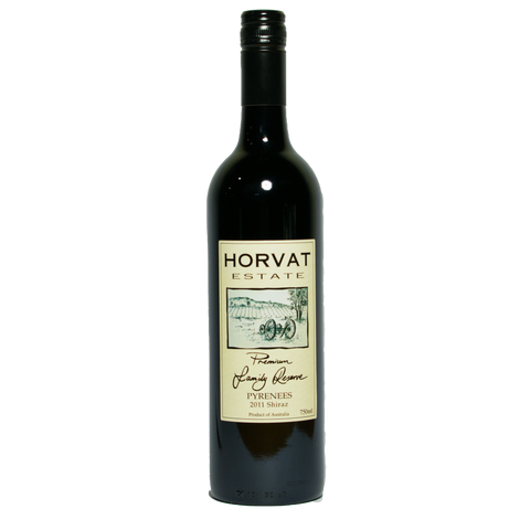 Horvat Estate Shiraz 2011