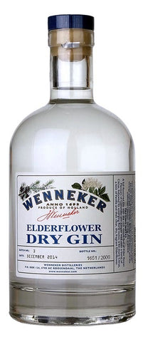 Wenneker Elderflower Dry Gin 700ml
