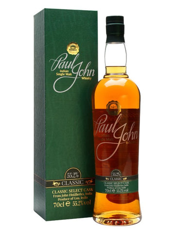 An unpeated release from Paul John, produced by Goa's John Distilleries and bottled in 2013 at cask strength. The distillery has been going from strength to strength since first hitting our shores in 2012.