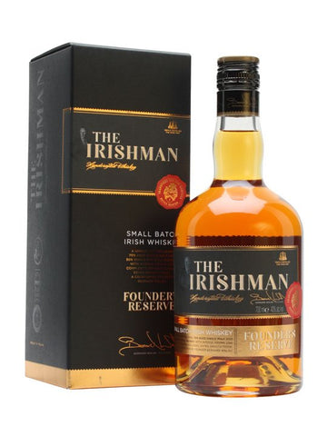 The Irishman Founders Reserve Whiskey 700ml 40%