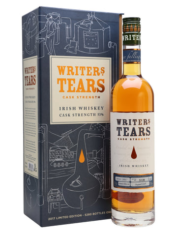 A higher intensity bottling from the Walsh distillery as part of their premium Writers' Tears range. Only 5280 bottles have been produced for 2017, offering notes of vanilla, honey, ginger, butterscotch and apple. The perfect gift for anyone with a novel languishing in a drawer.