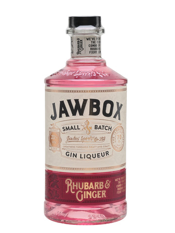 When it comes to classic British flavour combinations, you can't get more traditional than rhubarb and ginger. From crumble to pie it's a great combination and it works even better with gin! This is Jawbox's juniper-and-citrus-forward gin with tart and fruity rhubarb, a kick of gingery spice and a touch of liqueur sweetness. Drink it with ginger ale or swap it for gin in classic long cocktails – Rhubarb and Ginger Collins anyone?