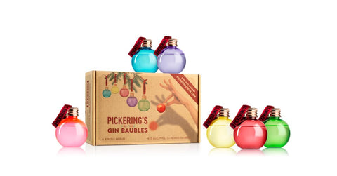 A set of six colourful baubles, each filled with 50ml of Pickering's Gin, perfect for deliciously decorating your Christmas tree (just make sure you hang them on securely!). Now, if someone could come up with edible tinsel to pair with these, that would be marvellous..
