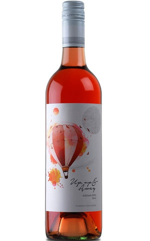"This is a perfect example of a Rose; packed with red berries and fairy floss notes, coupled with refreshing acidity, this wine finishes clean. Our ""Up, Up & Away"" will surpass expectations, dancing across the palate with grace and elegance. Delicate raspberry and strawberry red berry fruit. A light and crisp Rosé with abundant wild strawberry and raspberry fruit flavours. Delicate fruit flavours lead to an elegant finish."
