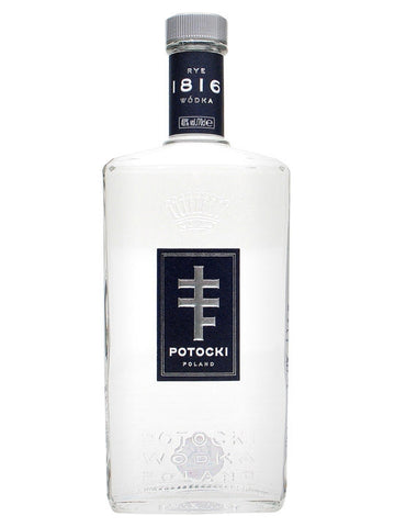 A terrific rye vodka, distilled just twice and bottled without charcoal filtration to retain its full-flavoured nuttiness. Potocki is one of the best Polish vodkas on the market.