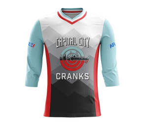 Capital City Cranks 3/4 Sleeve Enduro Jersey