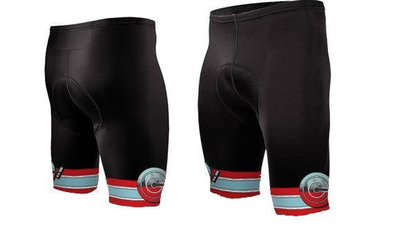 Capital City Cranks Cycling Kit Shorts